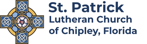 Logo for St Patrick Lutheran Church UAC